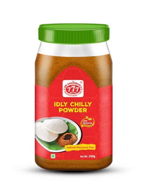 Rice Mix _Idly Chilly Powder 3D Pack